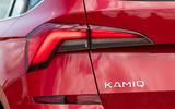 Skoda Kamiq 2019 road test review - rear lights