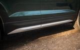 Skoda Karoq Scout 2019 road test review - side skirts