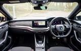 9 Skoda Octavia vRS TDI 2021 road test review dashboard