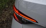 Skoda Superb iV 2020 road test review - rear lights