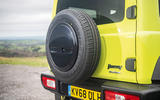 Suzuki Jimny 2018 road test review - spare wheel