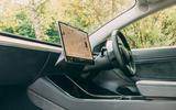 Tesla Model 3 road test - dashboard