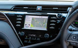 Toyota Camry 2019 review - infotainment