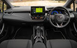 Toyota Corolla Touring Sports 2019 road test review - dashboard