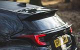 9 Toyota GR Yaris 2021 UK road test review spoiler