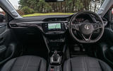 Vauxhall Corsa 2020 road test review - dashboard