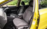 Volkswagen Golf 2020 road test review - cabin