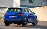 Volkswagen Tiguan R road test review - static rear