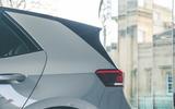 9 VW ID 3 2021 road test review rear three quarters