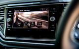 Volkswagen T-Roc 2019 road test review - infotainment
