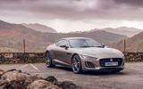 Jaguar F-Type 2020 road test review - static front