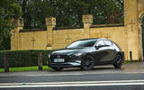 Mazda 3 Skyactiv-X 2019 road test review - static front