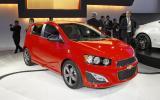 Detroit motor show: Chevrolet Aveo RS