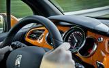 Citroën DS3 Racing orange interior