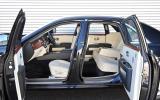 Rolls-Royce Ghost open doors