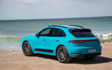 Porsche Macan Turbo 2019 road test review - static rear