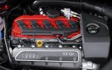 2.5-litre Audi RS3 Sportback engine