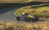 Ariel Atom 4 2019 road test review - cornering front
