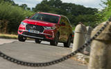 DS 7 Crossback 2018 road test review on the road front