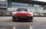 Porsche 911 GT3 RS 2018 review static front