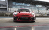 Porsche 911 GT3 RS 2018 review static front