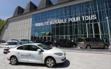 Renault Fluence Z.E. parked up