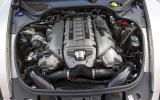 4.8-litre V8 Porsche Panamera Turbo S engine