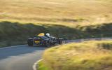 Ariel Atom 4 2019 road test review - cornering rear