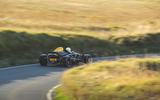 Ariel Atom 4 2019 road test review - cornering rear