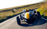 Ariel Atom 4 2019 road test review - on the road nose