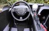 KTM X-Bow 300 dashboard