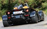 KTM X-Bow 300 rear cornering