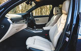 BMW 3 Series Touring 2020 road test review - front seats