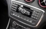 Mercedes-AMG audio system controls