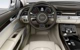 Audi A8 3.0 TDI dashboard