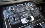 Audi A8 climate control