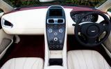 Aston Martin Vanquish Volante dashboard