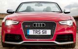 Audi RS5 Cabriolet front end