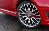 17in Abarth 595 alloy wheels