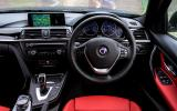Alpina D3 Biturbo's dashboard