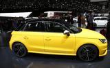Geneva show debut for 228bhp Audi S1