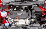 Audi A1 engine bay