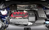 Five-cylinder Audi RS Q3 engine