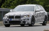 New BMW 5-series spotted