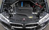 BMW X5 eDrive prototype engine bay