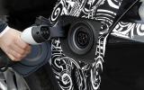BMW X5 eDrive prototype charging port