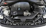 3.0-litre BMW 435i convertible engine
