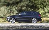 BMW X5 side profile