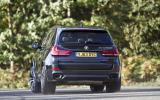 BMW X5 rear cornering