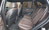 BMW X5 rear seats
